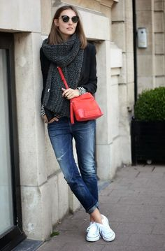 I want pretty: LOOK-Outfits cool con tenis / Cool sneakers outfits!