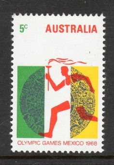 Australia Olympics, Ron Baker, Mexico Olympics, Coin Dealers, Sell Stamps, My Land, Stamp Collecting, Ox, Postage Stamps