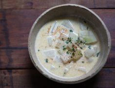 Krémes karalábé leves (tej-, és gluténmentes) - gréta konyhája