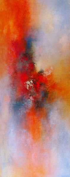 "Contemporary Painting - ""Shining Through"" (Original Art from Karen A. Taddeo)"