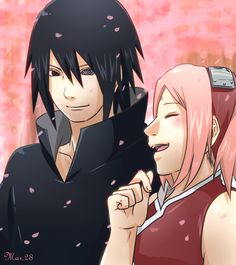 Sasuke & Sakura (finally! I've shipped them since I was twelve)