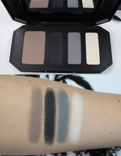 SWATCHES + REVIEW: NEW Kat Von D Shade + Light Eye Contour Quad (Smoke) – Kitty Kat Does Makeup