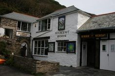 The Museum of Witchcraft, Boscastle, Cornwall, South West England, UK. Absolutely fascinating and quite spooky to boot. North Cornwall, Devon And Cornwall, Cornwall England, England Uk, Places In Cornwall, Witch Cottage, Practical Magic, British Isles, Beautiful Islands