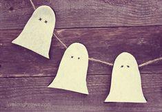 Rustic Ghostly Garland