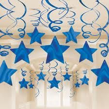 Details of 30 Blue Shooting Stars Whirlwind Decorations Graduations / Birthday Supplies – No Translation - Decoration For Home Graduation Party Supplies, Birthday Supplies, Diy And Crafts, Crafts For Kids, Paper Crafts, 1st Birthday Parties, Birthday Party Decorations, Star Decorations, Christmas Decorations