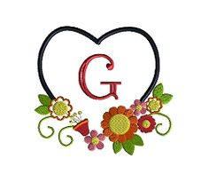 Heart Frame 2 - 3 Sizes! | What's New | Machine Embroidery Designs | SWAKembroidery.com Sew Cha Cha
