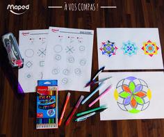 Rosaces #Maped #MapedCreatives #Rosaces #Coloriage #DIY #Fun #Activités #Enfant