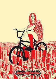 "Made by: Raid71 , ""Summer in the city"" - (Bike, Biking, Cycling)"