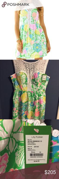 🔥Lilly Pulitzer🔥Raegan Dress 🎀Raegan Dress size 10 in Hibiscus Stroll. Pristine condition never worn.🎀 Lilly Pulitzer Dresses