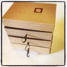 Upcycled Birchbox, I cant wait to do this with my birchbox!