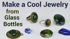 If you want to make your own jewelry, microwave kiln is great for the job. I own a very small kiln, but it's enough to make awesome jewelry. You can buy special glass to melt in a microwave kiln or you can use ordinary glass bottles. In this video, I demonstrate how you can make jewelry from glass bottles.