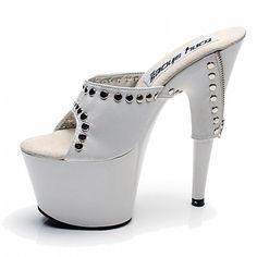 Mujer-Tacón Stiletto Plataforma-Plataforma Zapatos del club Light Up Zapatos-Tacones-Vestido Informal Fiesta y Noche-Materiales 2017 - $43.32
