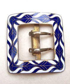 Antique belt buckle sash buckle Victorian by ElrondsEmporium
