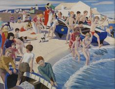 Ernest Procter - On the Beach at Newlyn