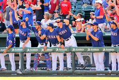 That moment when you watch Beltre smack a home run for the lead. #NeverEverQuit