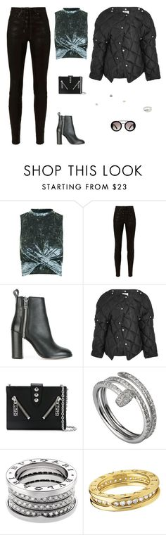 """""""Untitled #4122"""" by antonellac15 ❤ liked on Polyvore featuring Topshop, rag & bone, Diesel, Acne Studios, Kenzo, Cartier, Bulgari, Prada and Cast of Vices"""
