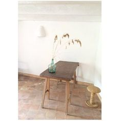 Rustic Table with grass
