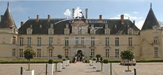 Chateau d'Augerville | Once the French country manor restored by Mrs. O. H. P. Belmont (nee Mrs. Alva Erskine Smith Vanderbilt) about an hour outside of Paris near Fountainbleau, it's now a four star hotel.