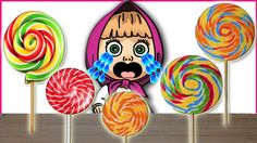 Bad Baby Сrying and Learn Colors Colorful Lolipops Finger Family Song Co...