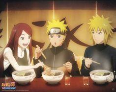 Poster affiche Naruto Shippuden Déjeuner en famille