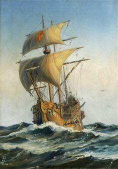 Sailing Ships, Boats, Watercolor Art, Display, Backgrounds, Ships, Sailboat, Boat, Tall Ships