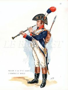 Musicante della 32 mezza brigata di fanteria di linea francese in Egitto