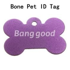Double Sides Bone Pet ID Tag Custom Engraved Dog Doggie Cat Name Personalized $1.60