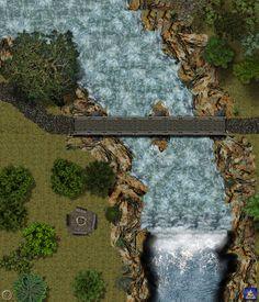 Bridge Encounter Map by Bogie-DJ