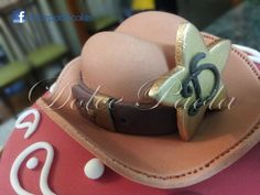 Bolo tema sertanejo - detalhe; country theme cake detail