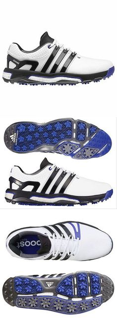 f955548021fe sporting goods  New 2016 Adidas Mens Asym Energy Boost Rh Golf Shoes White    Black