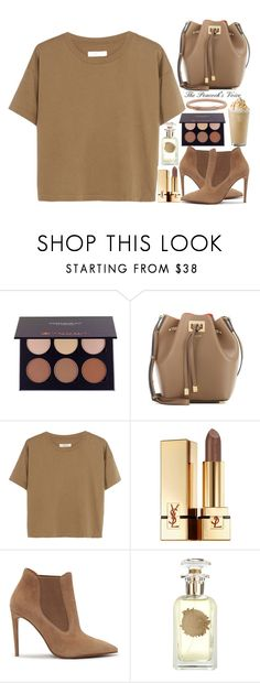 """""""Brownie"""" by fra3 ❤ liked on Polyvore featuring Michael Kors, Madewell, Yves Saint Laurent, Ralph Lauren, Houbigant and FOSSIL"""