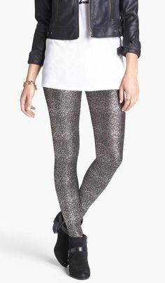 Mimi Chica Glitter Leggings
