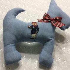 6716a68248 Ralph Lauren Teddy Bear Polo Custom Made Scotty Dog Pillow