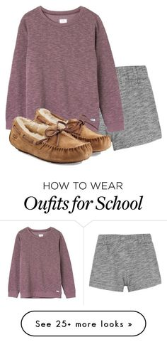 No School Tomorrow due to rain! || 284 by fifty-shades-of-ashe on Polyvore featuring rag  bone, RVCA and UGG Australia