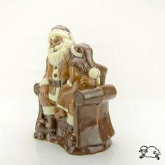 Weihnachtsmann im Sessel I