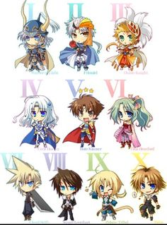 I wish I'd have been more into Final Fantasy back in the day :/