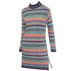 For Sale on - An ultra chic mini dress by Yves Saint Laurent, the dress is in a knitted in a fabulous colour palette and pattern and has an embroidered 'YSL' logo in Fashion Art, New Fashion, Vintage Fashion, Fashion Outfits, Yves Saint Laurent, Ysl, Christian Dior, Paris Design, Day Dresses