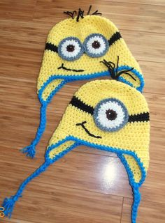 Despicable Me Crochet Minion Hat Child 410 Years by ...
