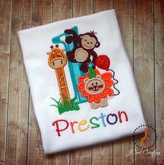 Jungle Birthday Shirt  - 1st Birthday, 2nd Birthday, Jungle Birthday, Safari…