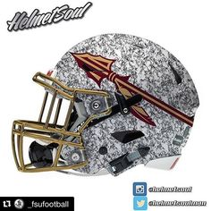 #Repost @_fsufootball  Thoughts on this concept helmet?  @helmetsoul  #GoNoles…