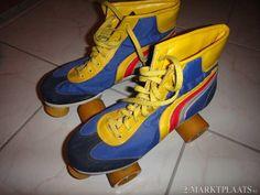 More vintage roller skates. Roller Disco, Roller Derby, Roller Skating, White Roller Skates, Quad Skates, High Top Sneakers, Sneakers Nike, Lets Roll, My Memory