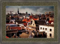 View From Metz Cafe Framed Print by Jenny Rainbow Art Prints For Home, Home Art, Fine Art Photography, Travel Photography, Amsterdam Holland, Frame Shop, Art Techniques, How To Be Outgoing, Netherlands