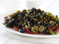 Giada - Roman Summer Salad (highly rated) some reviewers added feta/goat cheese, served with french bread slices, and used kalamata olives
