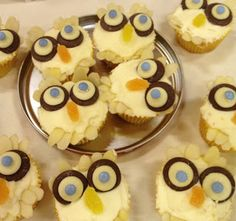 I found these old pics of the Gruffalo party we organised for baby puddleduck's birthday. I shared the main Gruffalo cake around. Gruffalo Party, The Gruffalo, Owl Cupcakes, Party Themes, Party Ideas, No Bake Cake, 3rd Birthday, Baking, Desserts