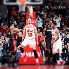 A full photo gallery of yesterday's 95-88 victory over Miami can be seen at Bulls.com/photos or in the #Bulls mobile app.