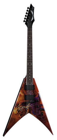 Dean Guitars - V Dave Mustaine - Peace Sells