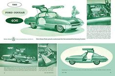 "1962 Ford ""Cougar"" Concept Car"