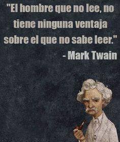 21 Brillantes lecciones de Mark Twain