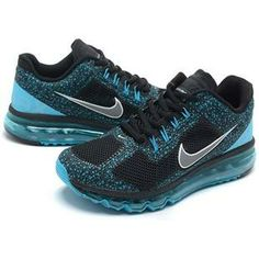http://www.asneakers4u.com/ Cheap nike air max 2013 mens trainers blue black size40 46 Sale Price: $67.00