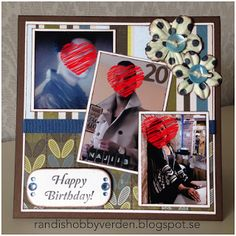Randis hobbyverden: Bursdagskort til en 20-åring